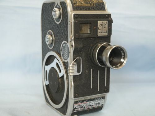 * C8 * Bolex C8 Clockwork Cine Camera c/w 12.5mm   LENS   £19.99